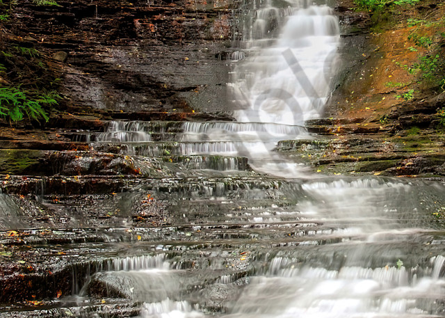Waterfall in Steuben County, NY
