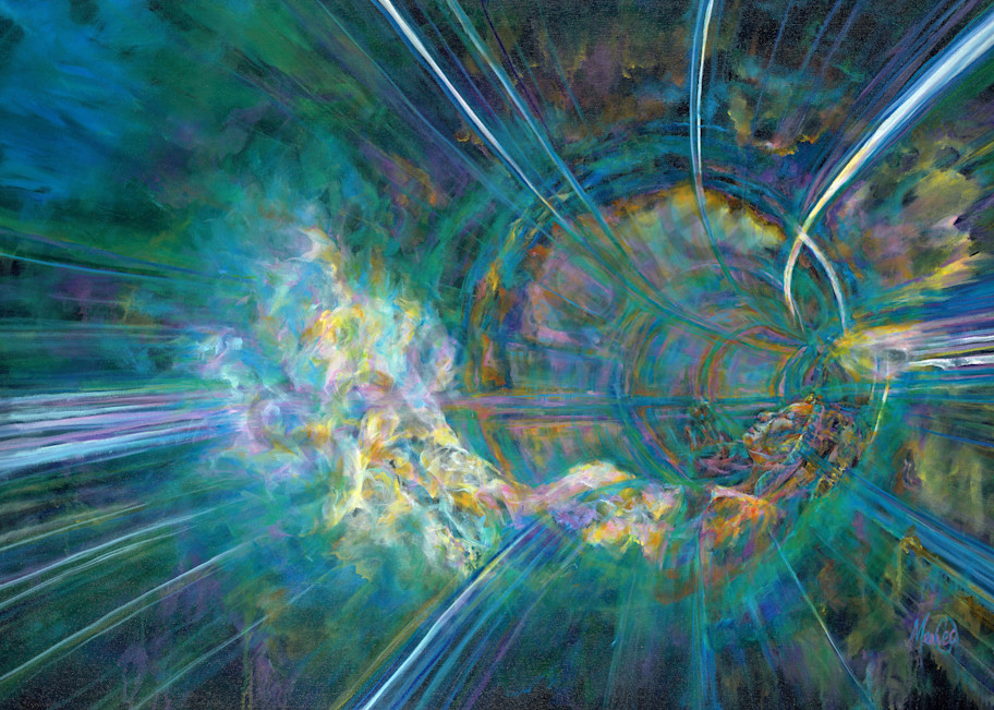 """""""Resting In The Deep"""" by California Prophetic Artist Mary Crawford 