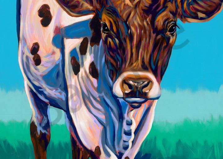 Longhorn paintings by John R. Lowery for sale as art prints.