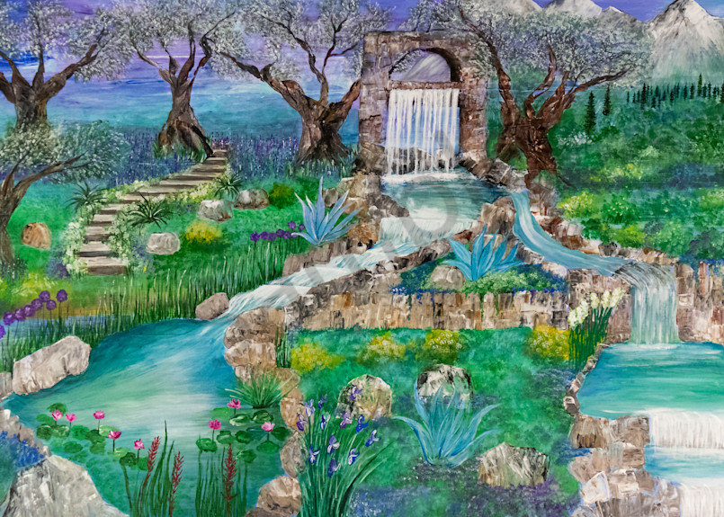 """""""Revival Fountain Overflowing Life"""" by Angela Günther   Prophetics Gallery"""