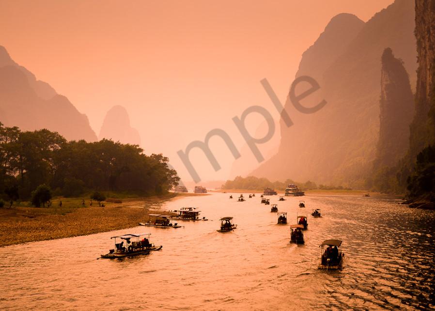 Li River in Guilin China