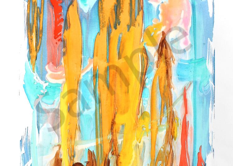 Icarus   Abstract Watercolors   Gordon Meggison IV