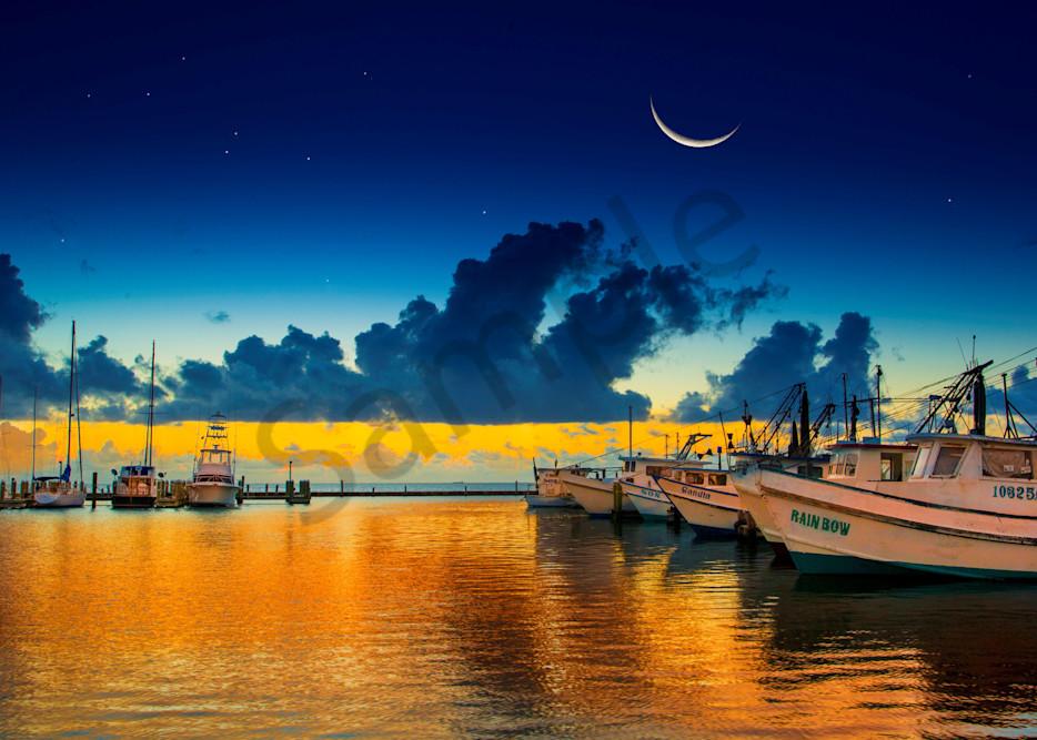 Fulton Harbor Magic Photography Art   John Martell Photography