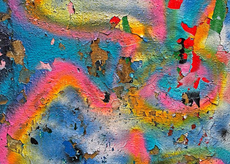 Peeling Graffiti  Art   toddbreitling