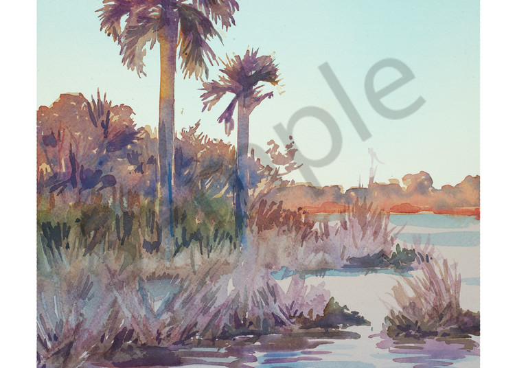 Sunrise at Guana | Watercolor Landscapes | Gordon Meggison IV