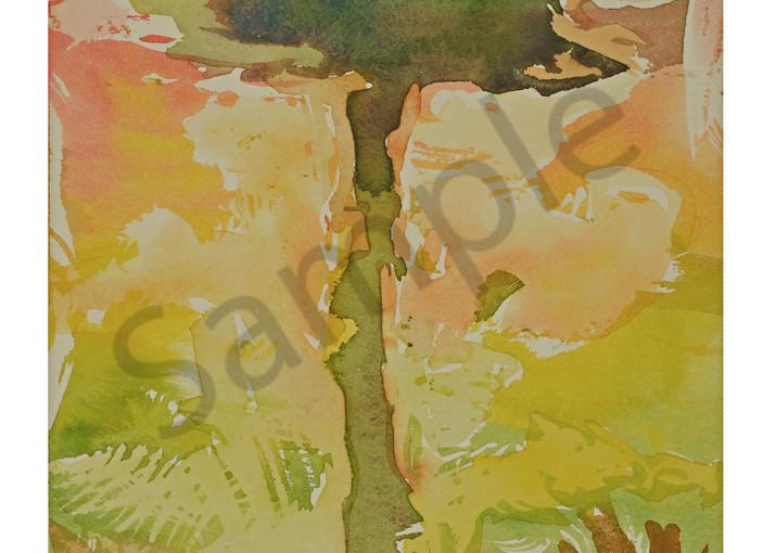 Summer Heat | Abstract Watercolor | Gordon Meggison IV