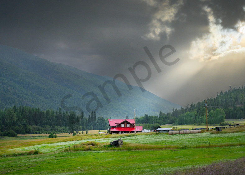 The Red Barn, Greenwood, Bc Photography Art | Kokanee Camera and Nelson Fine Art Printing