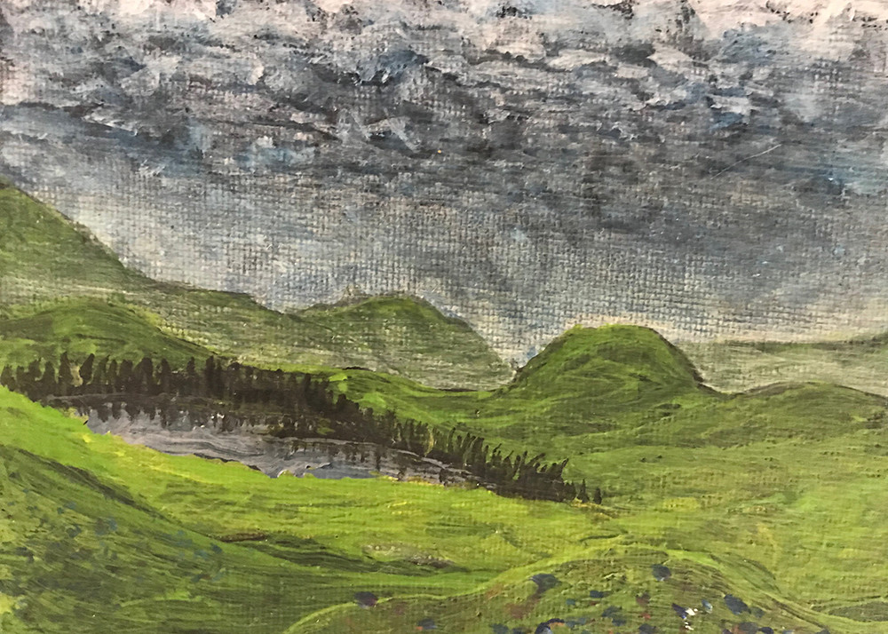 Storm in the Hills