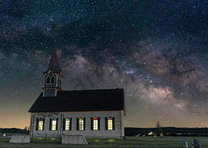The Rock Church Photography Art | John Martell Photography