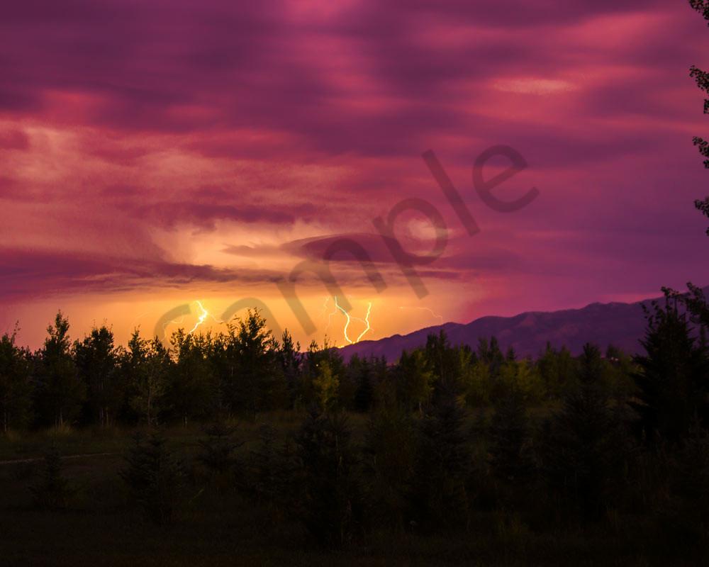 swan valley idaho thunder storm