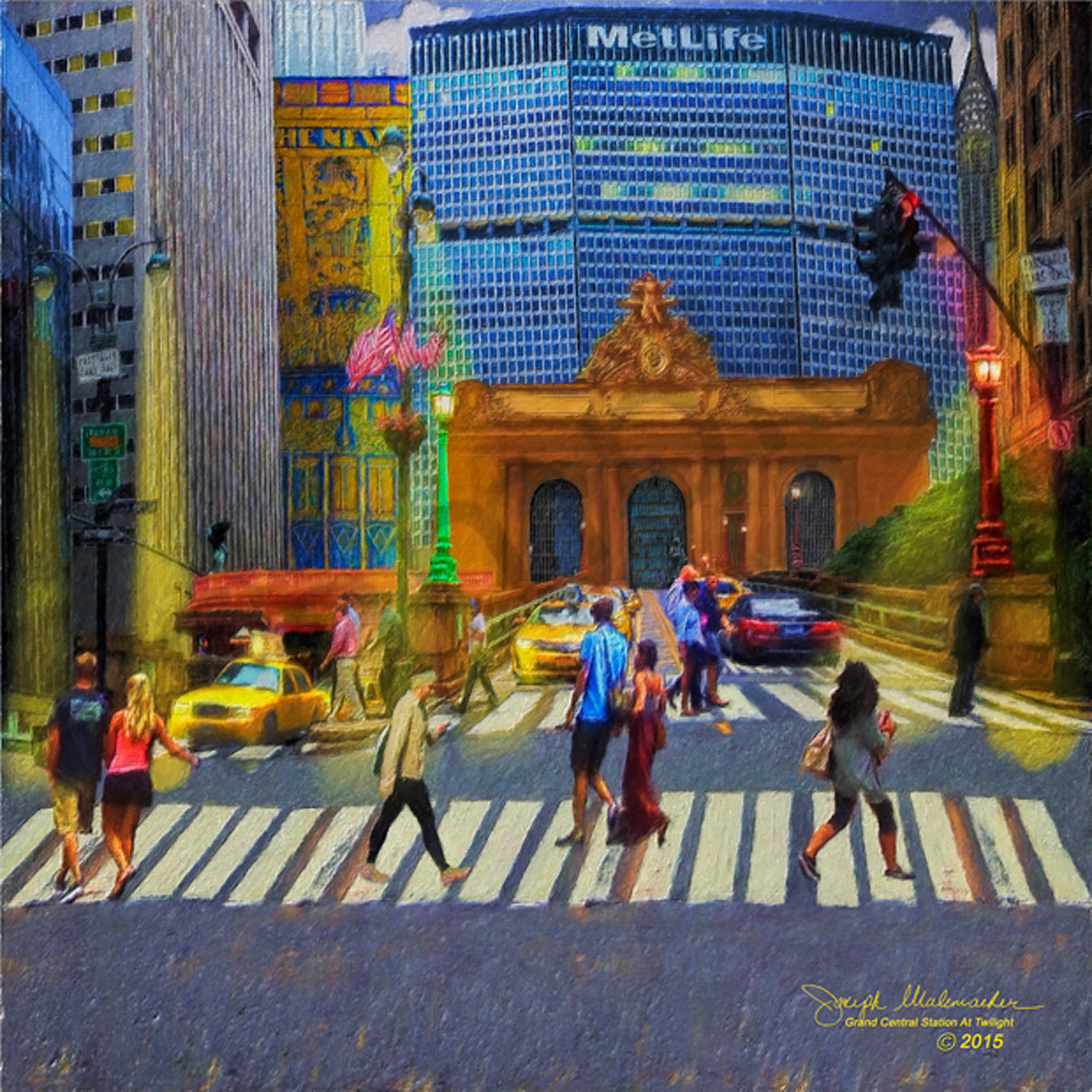 Original New York City print on canvas - The Gallery Wrap Store
