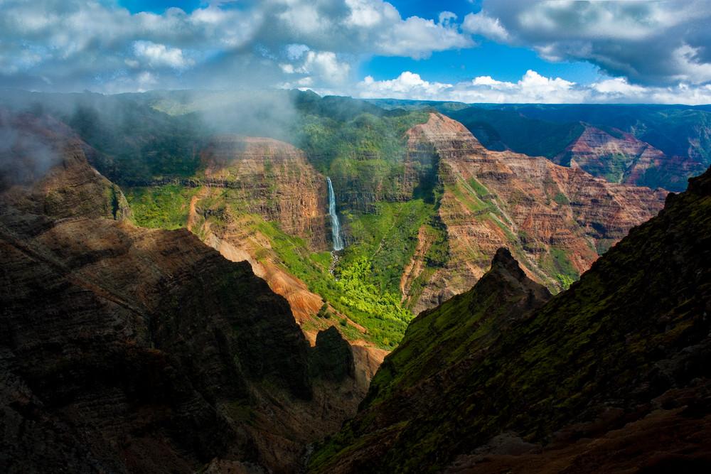 Hawaii Photography Waimea Canyon By Douglas Page