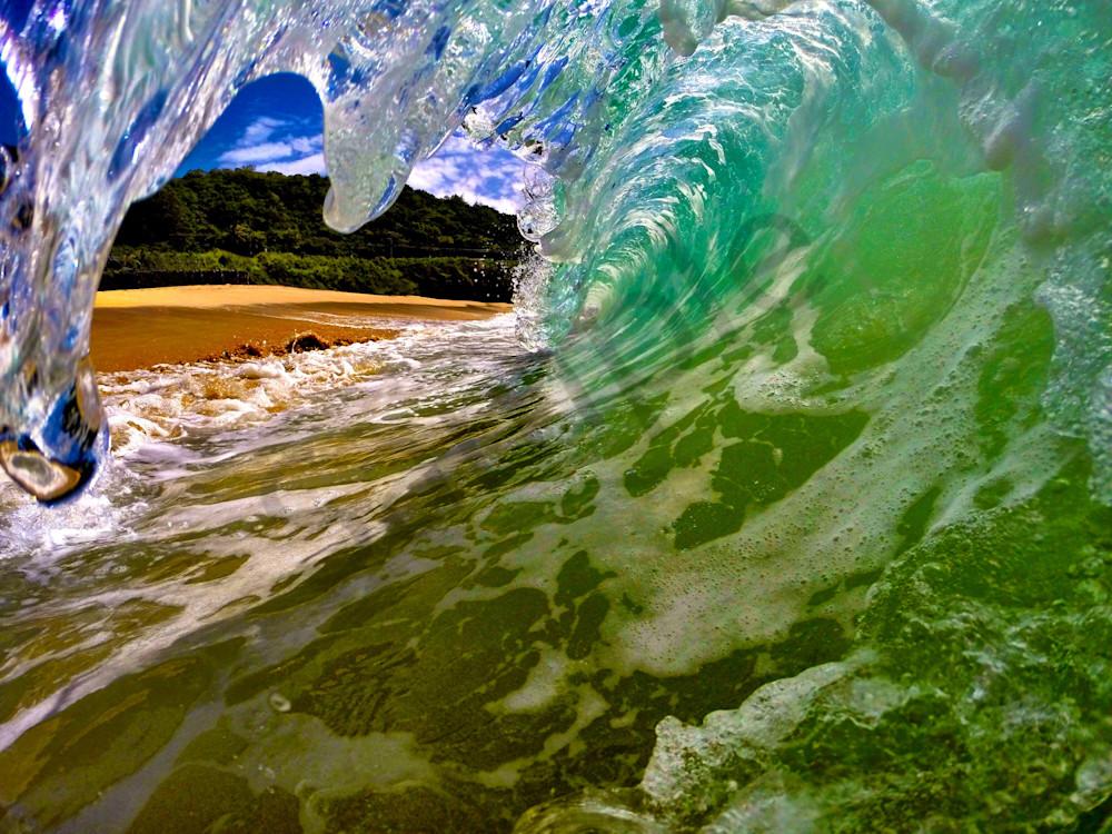 Surf Photography Frozen In Summer By Matt Kwock