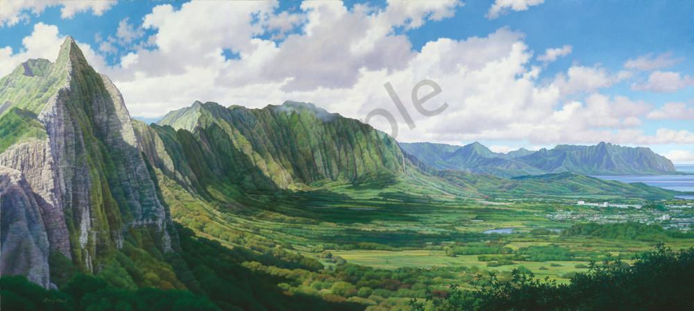 Hawaii Landscape Art Gary Reed