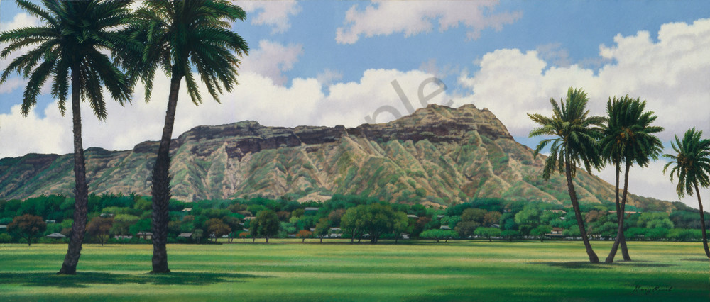 Hawaii Landscape Art Gary Reed