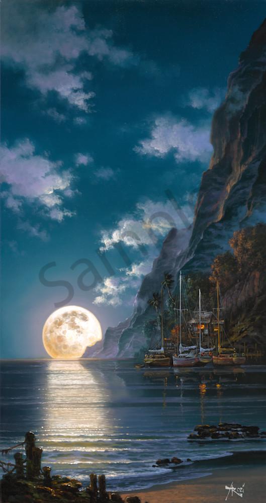 Fine Art Ocean Romance By Arozi