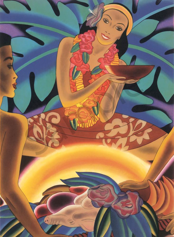 Retro Hawaiian Art | Luau by Frank MacIntosh