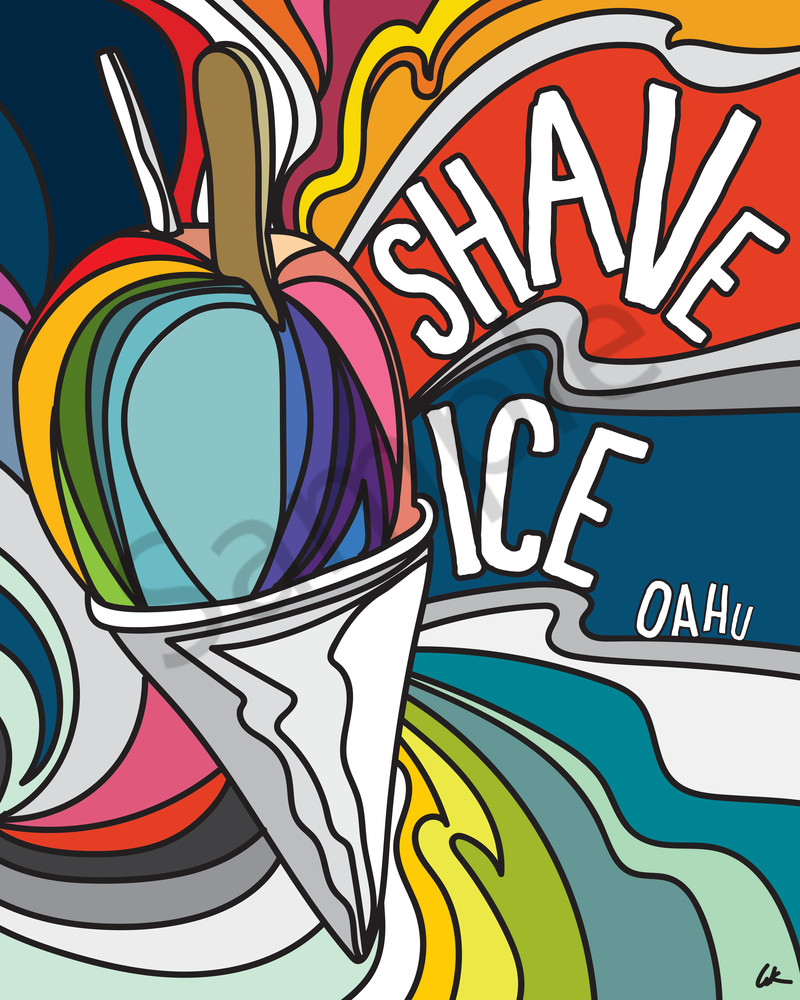 Lifestyle Prints | Shave Ice Oahu