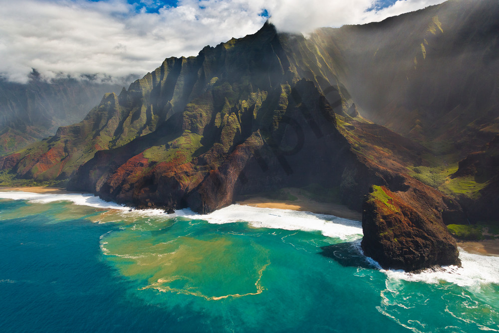 Hawaii Landscape Photography Na Pali Coast 2 By Leighton Lum