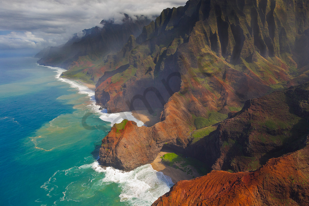 Hawaii Landscape Photography Na Pali Coast By Leighton Lum