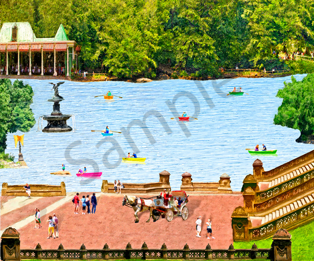Art print of Central Park - The Gallery Wrap Store