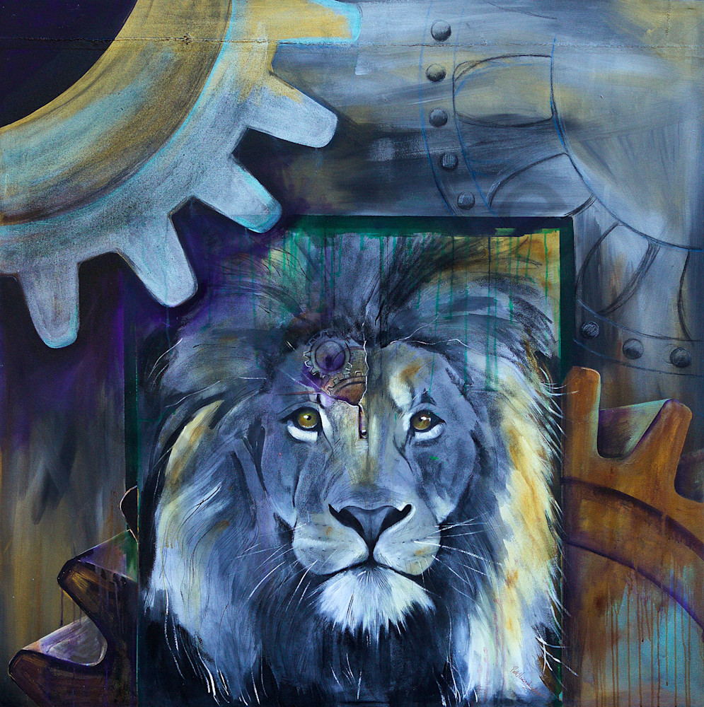 """""""Courage"""" by artist Patti Hricinak-Sheets 