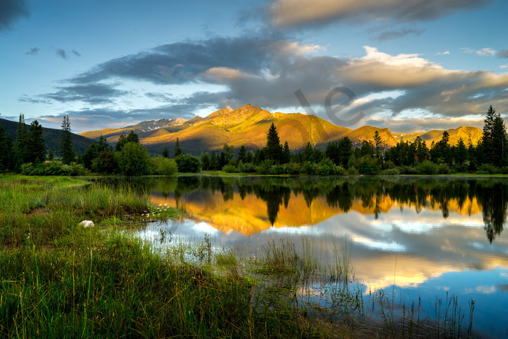 Peak One Of The Ten Mile Range And Lake Dillon Art | Cunningham Gallery