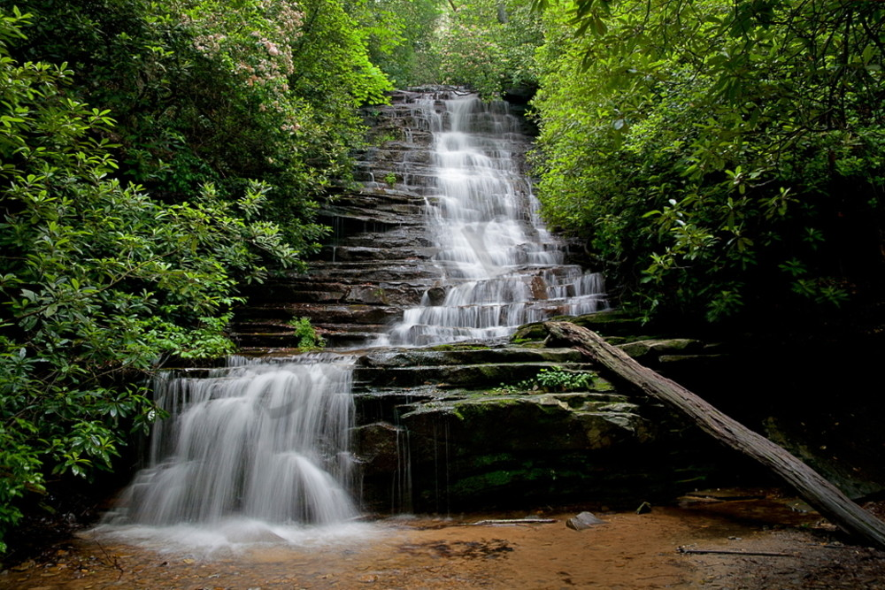 5039 Waterfall Smoky Mtns Art | Cunningham Gallery