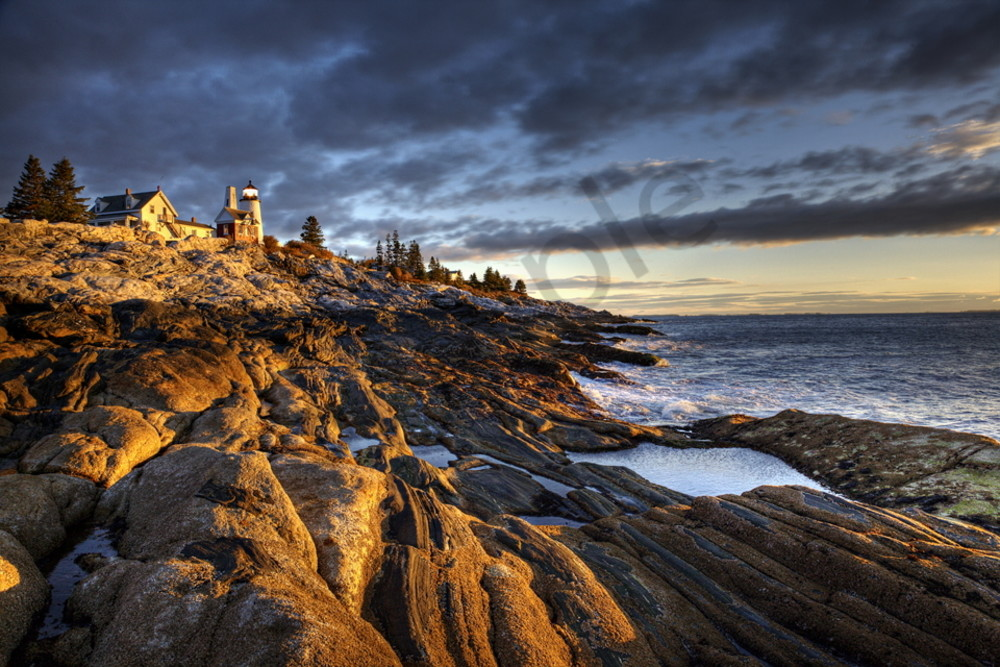 3659 Pemaquid Lighthouse Maine Art | Cunningham Gallery