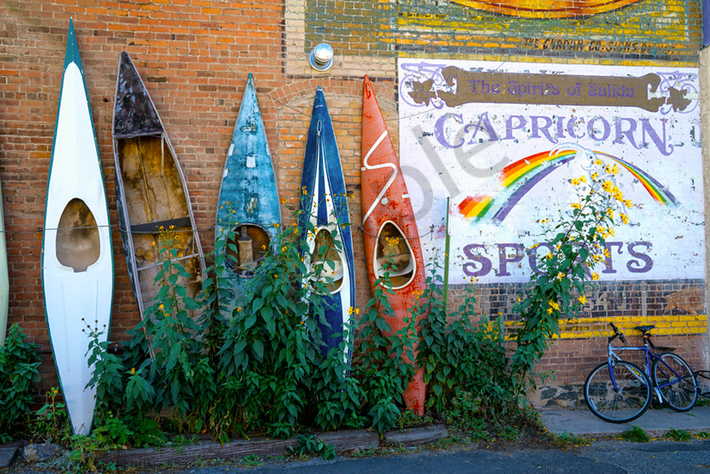 Kayaks in Salida, CO