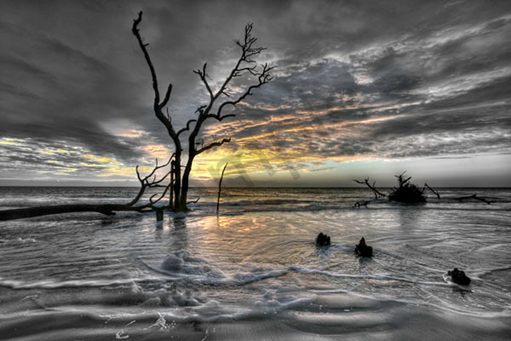 Hunting Island Sunrise No. Iii Photography Art | Robert Jones Photography