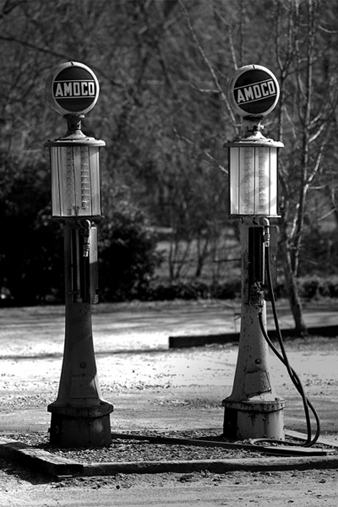 Gas Pumps Photography Art | Robert Jones Photography