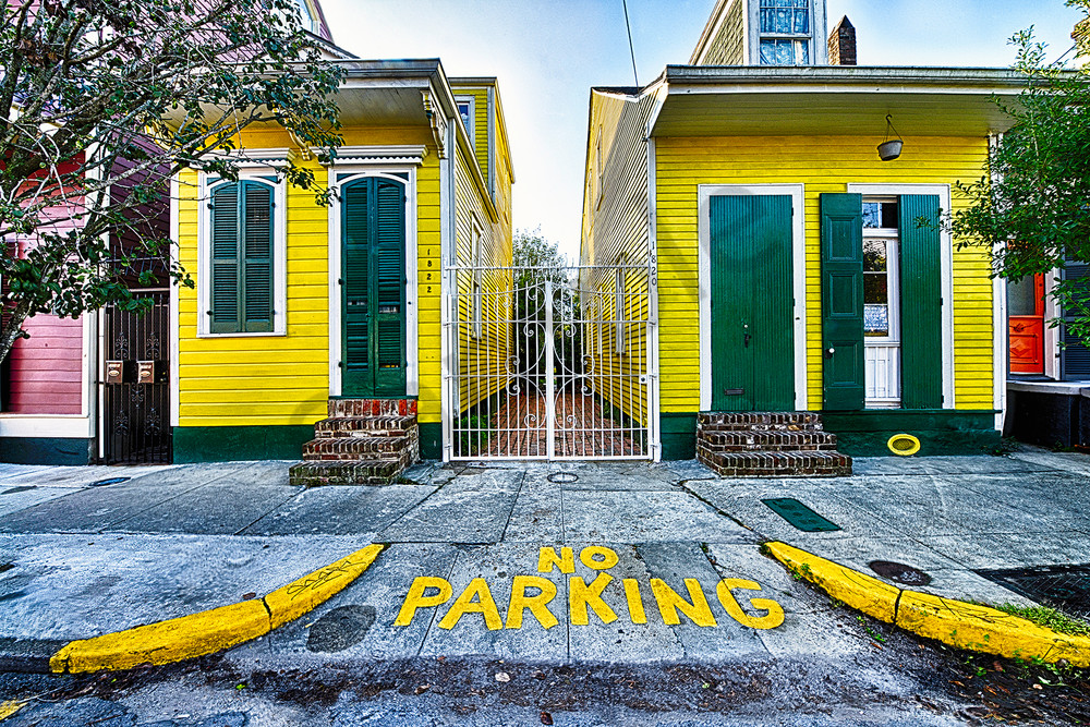 No Parking Photography Art | Robert Jones Photography