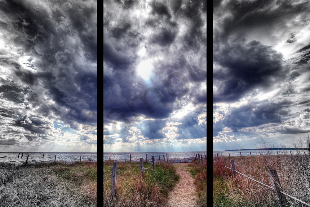 Chesapeake Walk   Trip Tych Photography Art | Robert Jones Photography
