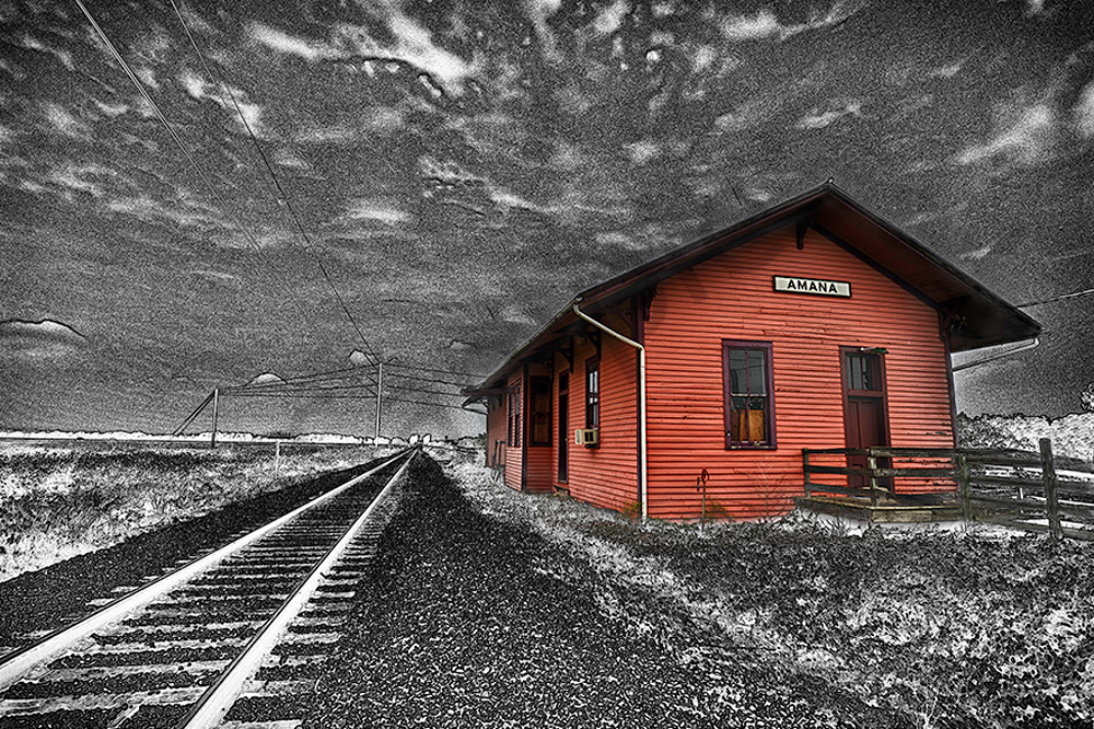 Amana Station Version Ii Photography Art | Robert Jones Photography