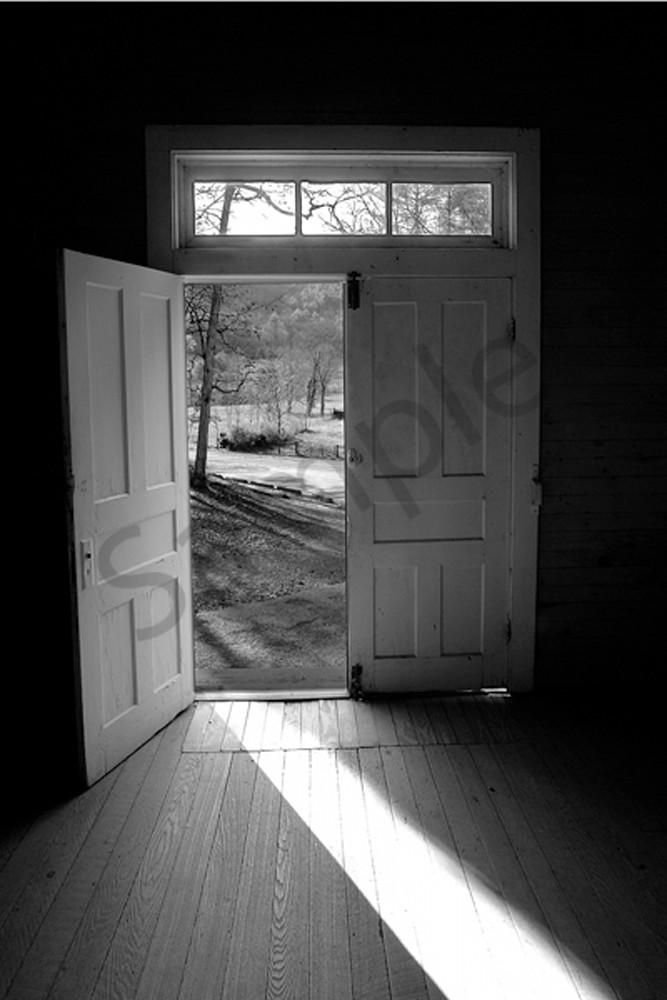 Cades Cove Door No. I Photography Art | Robert Jones Photography