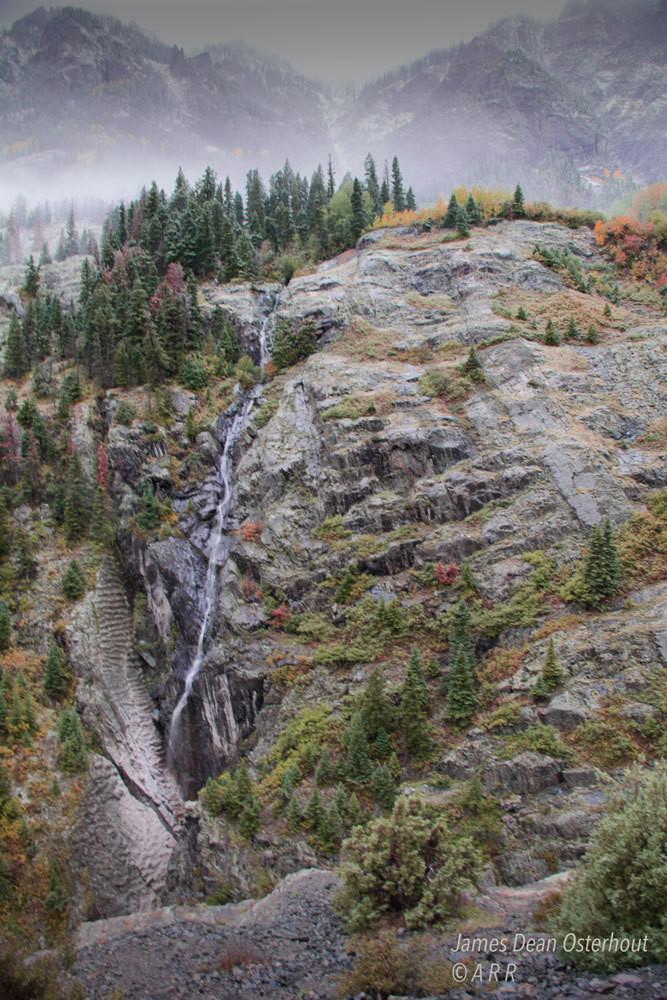 Water falls,Colorado