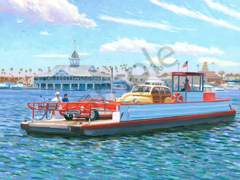 Balboa Island Ferry with Pavilion