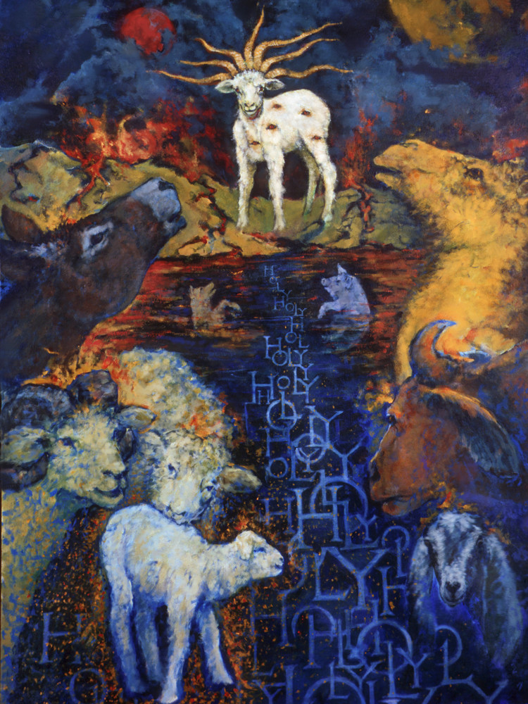 """""""Holy Holy Holy"""" by North Carolina Artist Bruce Weeks 