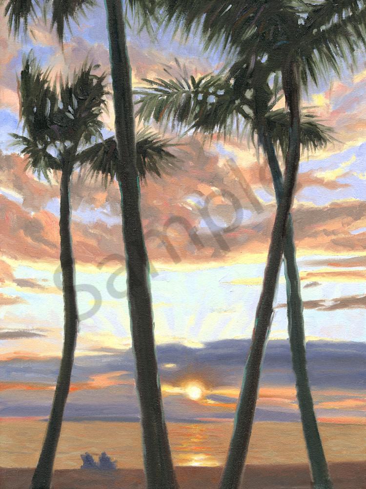 Sunset at Grand Wailea