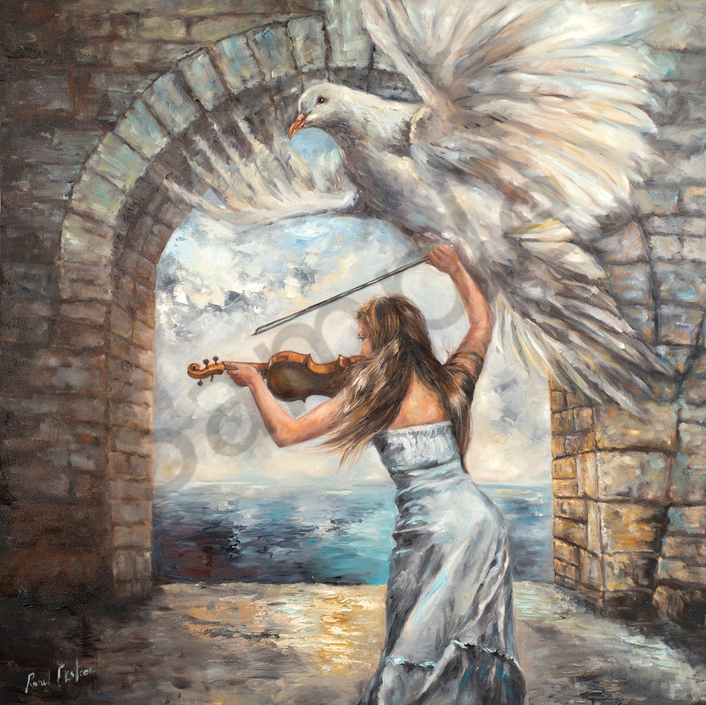 """""""Arise"""" by South African Artist Ronel Eksteen at Prophetics Gallery"""