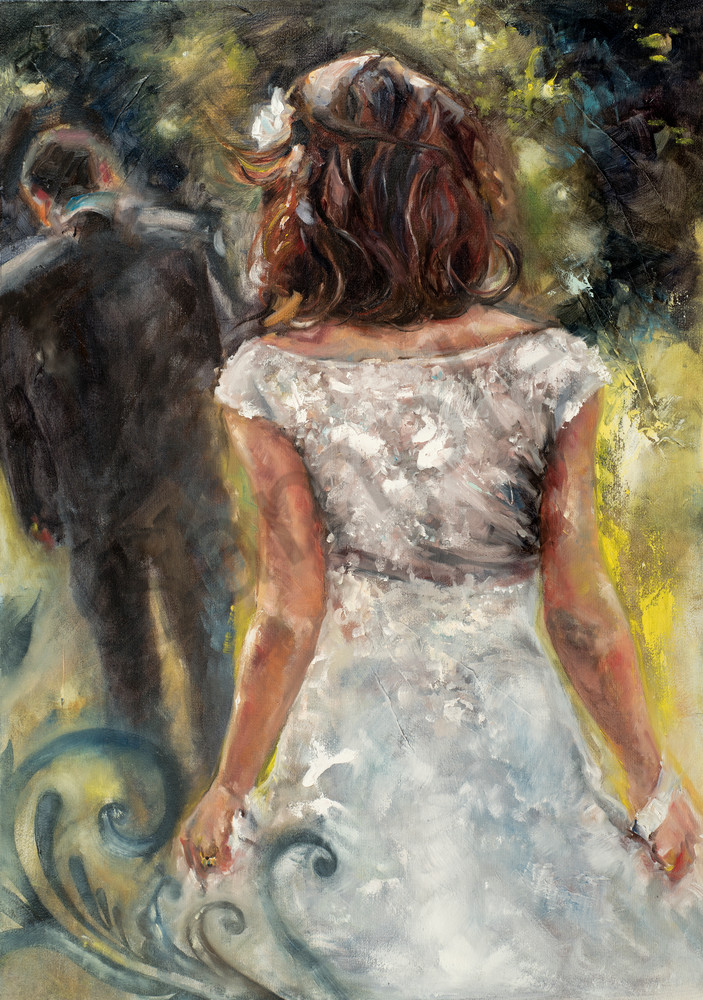 """""""I Will Follow Him"""" by Ronel Eksteen at Prophetics Gallery"""