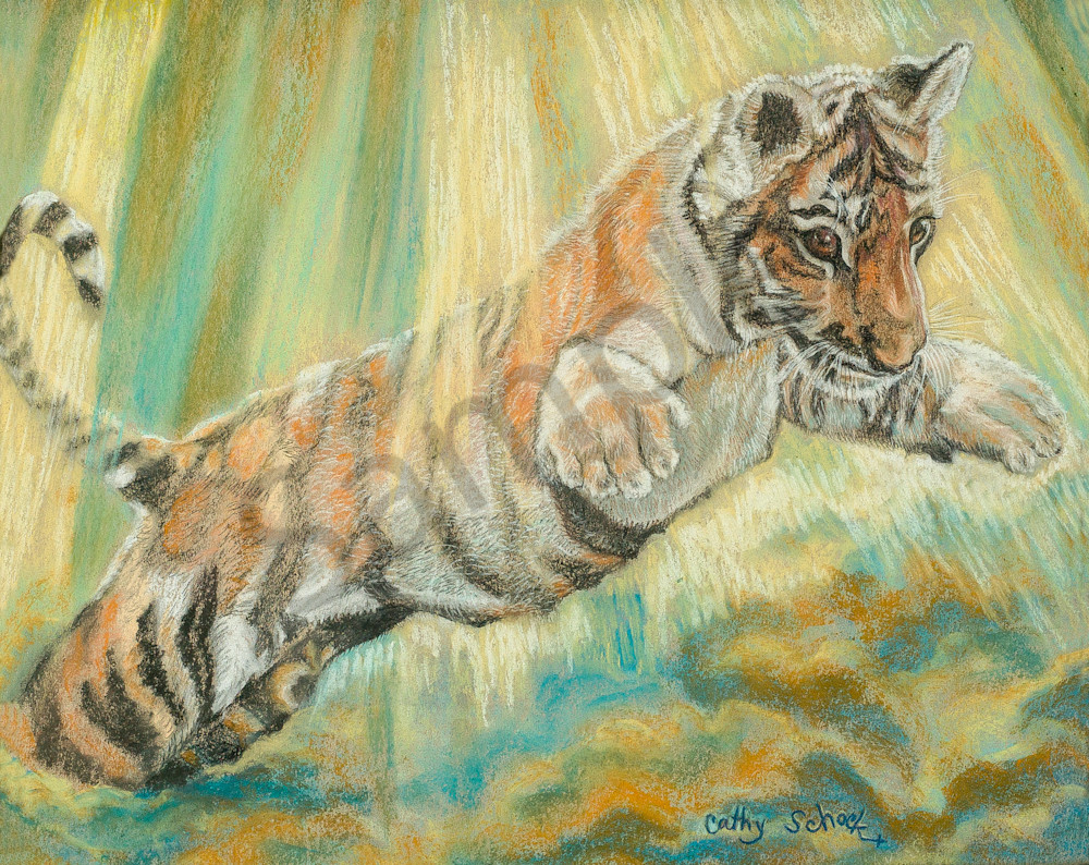 Pastels by Artist Cathy Schock at Prophetics Gallery.