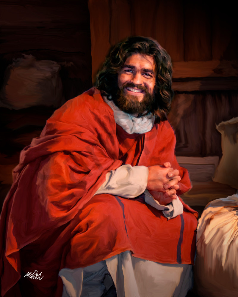 Joyous Jesus in Winter