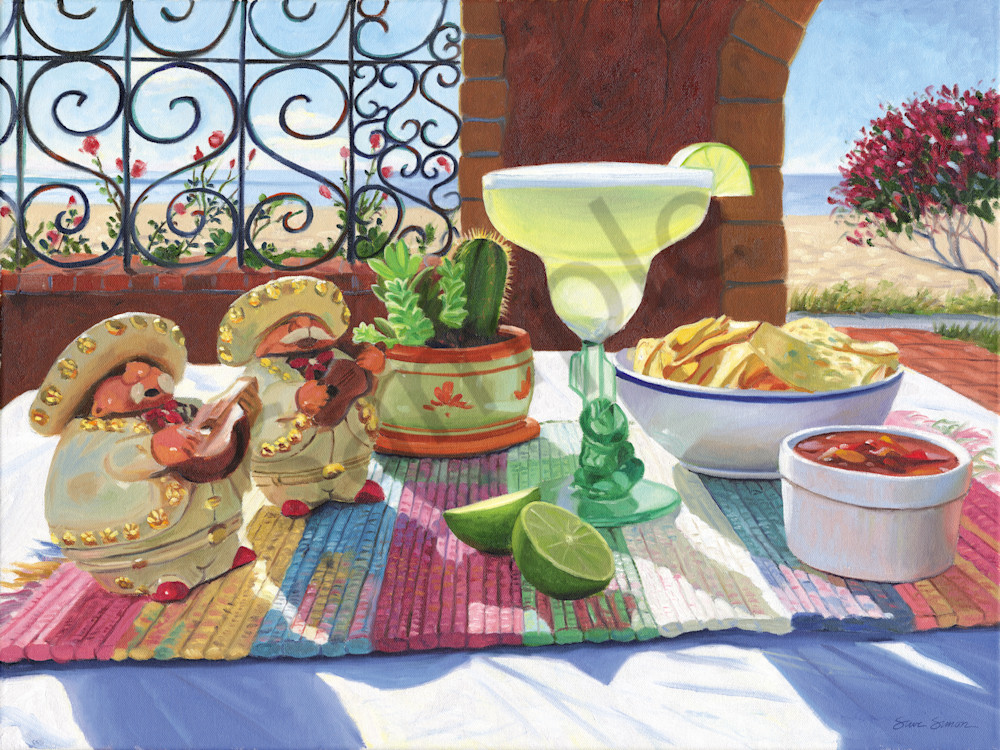 Margarita Still Life Painting