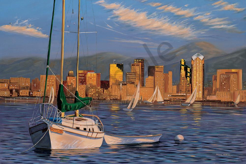 Boat in San Diego Harbor