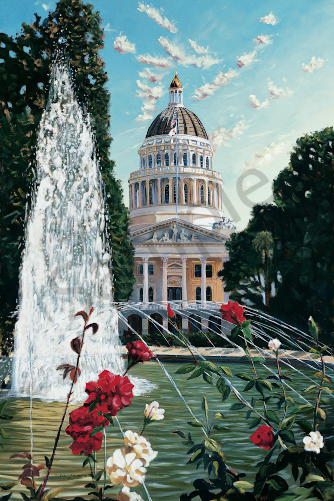State Capital Building Sacramento