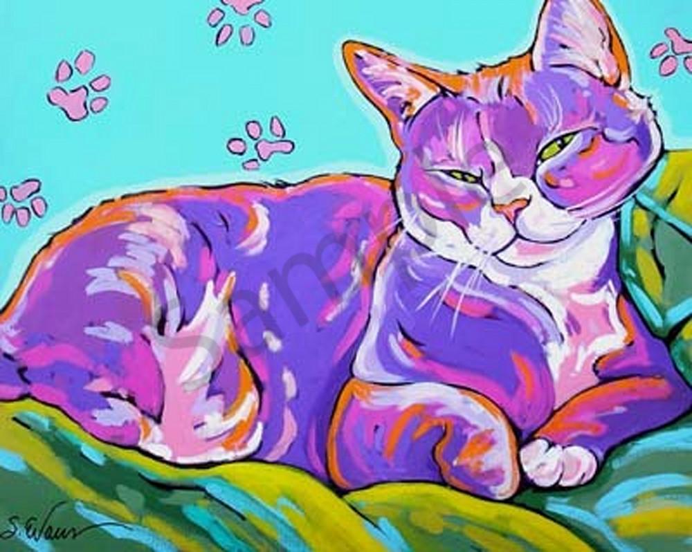 Just Dozing Art | Sally C. Evans Fine Art