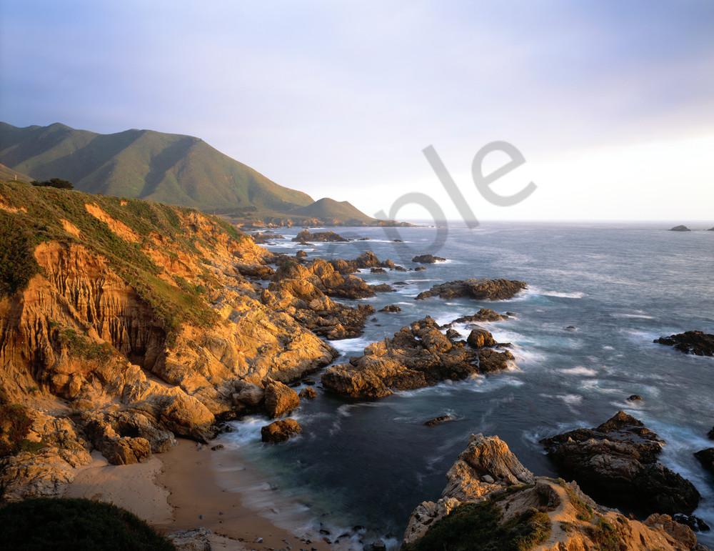 The rugged Big Sur coast near Carmel, California