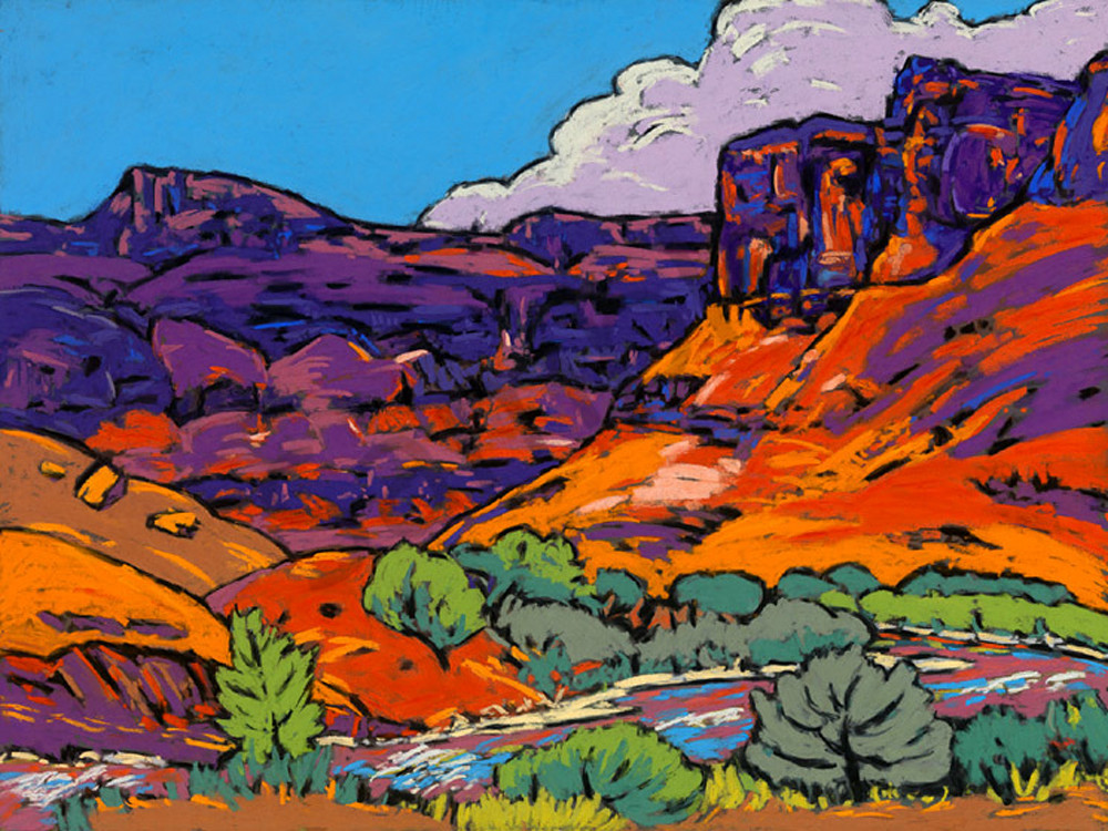 Canyon Dreams Art | Sally C. Evans Fine Art